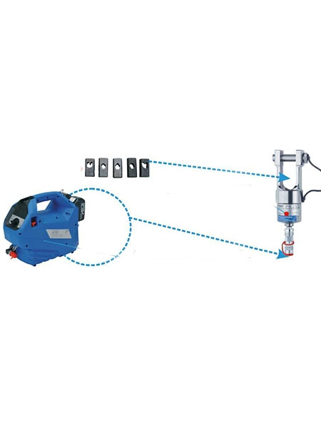Electric connection hydraulic suit series