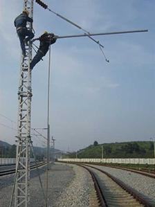 GQX-350 High-speed railway light contact net repair pillar