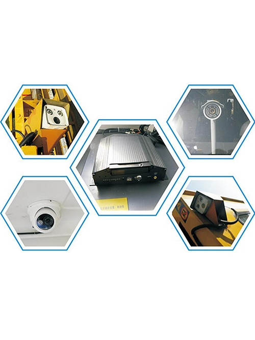 Remote video monitoring  recording system of OCS operation vehicle (rush repair operation)
